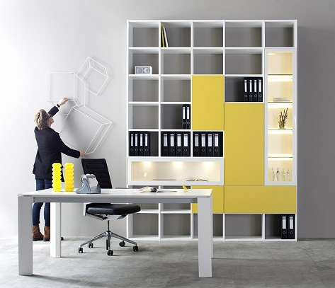 Smart Wall Mounted Office Cabinets