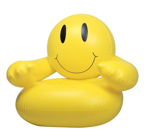 Smiley Style Inflatable Chair