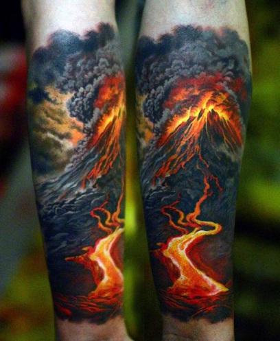 Smoky Badass Tattoo Design