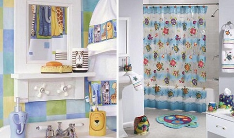 Special Bathroom décor for kids
