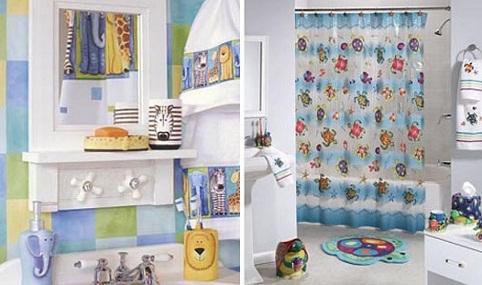 Special Bathroom décor for kids