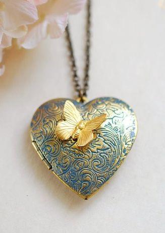 Special Valentine Locket Necklace
