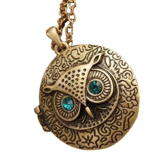 owl locket design ideas