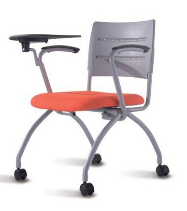 Study Folding Chair with Writing Pads
