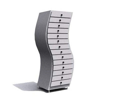 Stylish Unique Shape Filing Cabinets