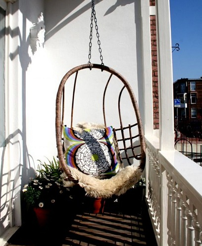 Swinging Balcony Chairs