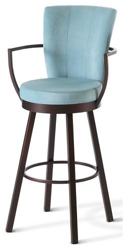 Swivel Bar Chairs in Blue