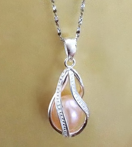 Teardrop Locket Necklace