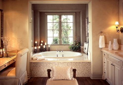 The Classic Look Luxury Bathroom Designs