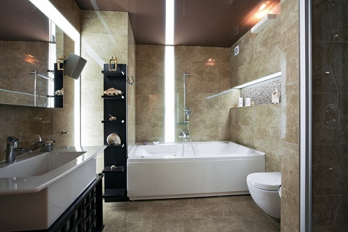 The Evergreen Style Luxury Bathroom Designs