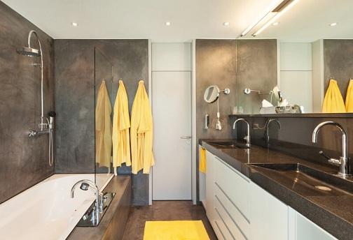 The Marble Finish Luxury Bathroom Designs
