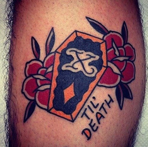 Till death tattoo