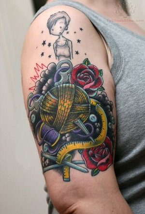 Traditional Crochet Tattoos