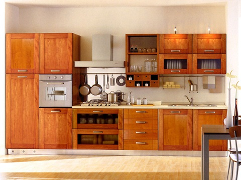 Genial Traditional Kitchen Cupboard Design