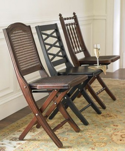 Traditional Wooden Folding Chairs