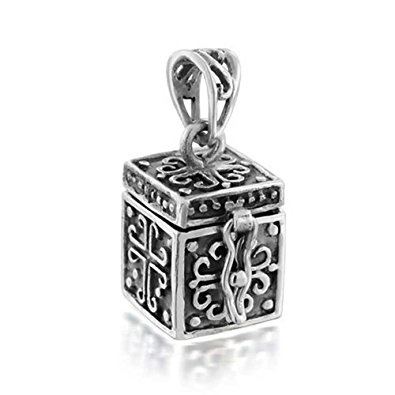 Treasure Box Cross Locket