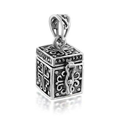 Treasure Box Cross Locket