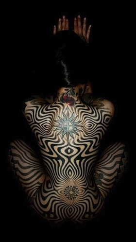 Trippe Illusion Tattoo Designs