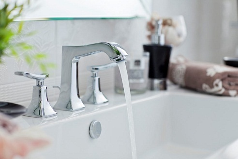 Twin Handle Mixer Tap