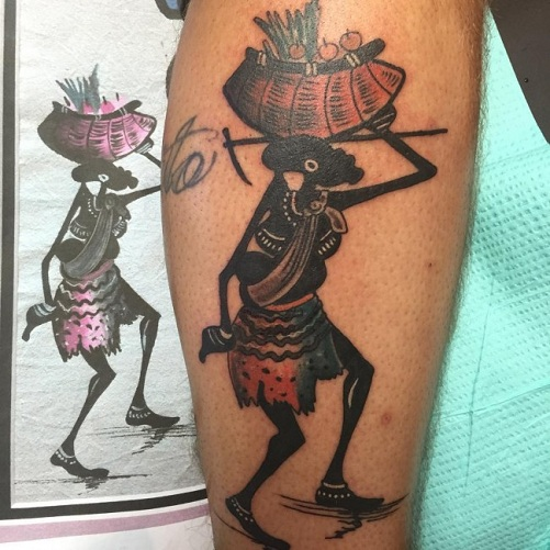 8b9f131de12c2 9 Traditional African Tattoo Designs and Meanings