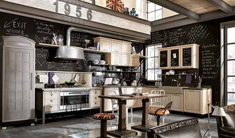 Vintage Inspired Kitchen Design