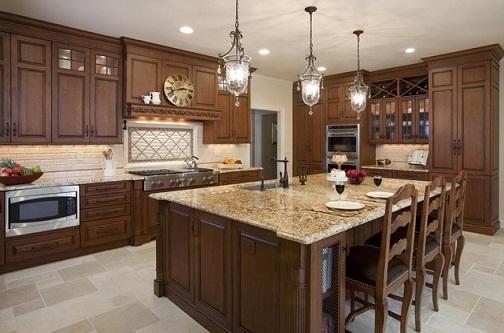 Vintage style designer kitchen