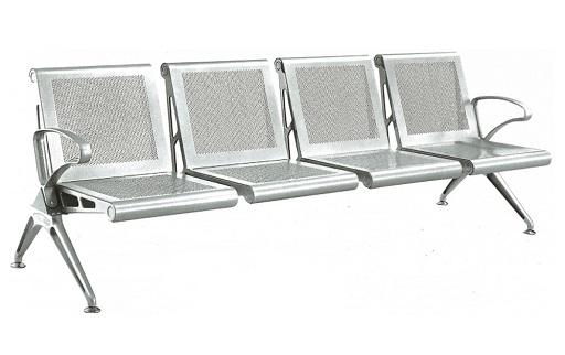 Waiting room metal chairs