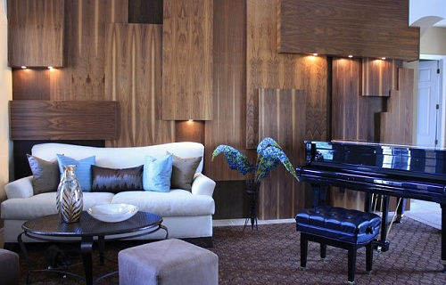 Wall Paneling Woodwork Design