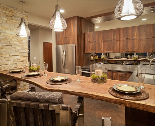 Wooden Interiors in a Classic Kitchen Design