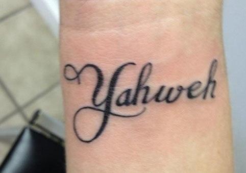 Yahweh Tattoo
