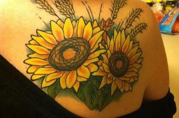 yellow tattoo designs