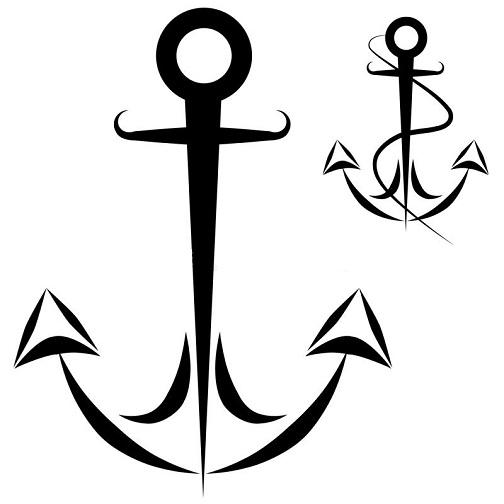 Anchor Printable Tattoos Design