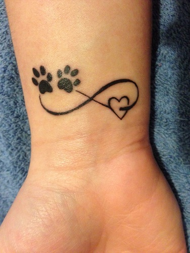 15 Coolest Unusual Paw Print Tattoo Designs Styles At Life