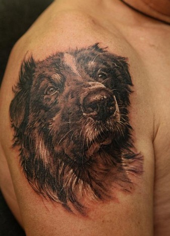 Animal Portrait Tattoo