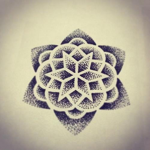 Art Work Dot Tattoo