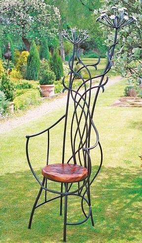 Artistic Garden Chair