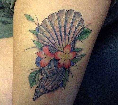 Artistic Ocean Tattoo Designs
