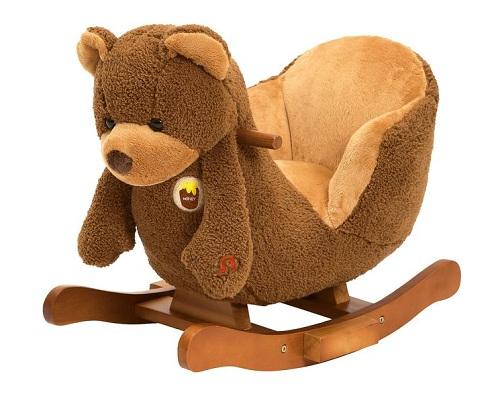 Bear Rocking Music Chair