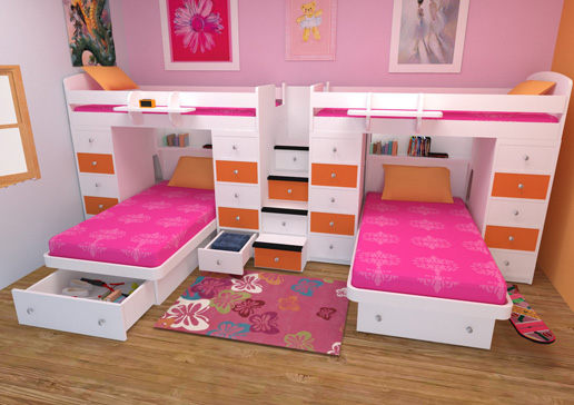 Bedroom Furniture for Twins