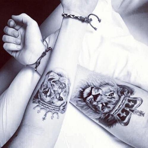 Beloved Motivational Tattoo Design