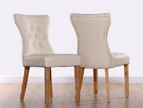 Button Fixed Table Chairs
