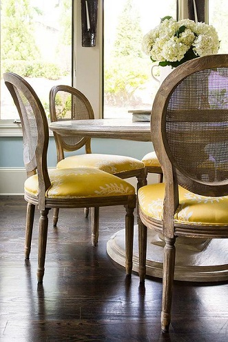 Cane Table Chair Sets