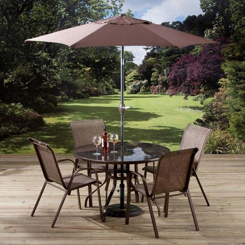 Chocolate Garden Chair