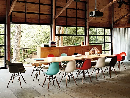 Class Room Eames Chairs