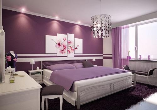 Colour scheme for Designer Bedrooms