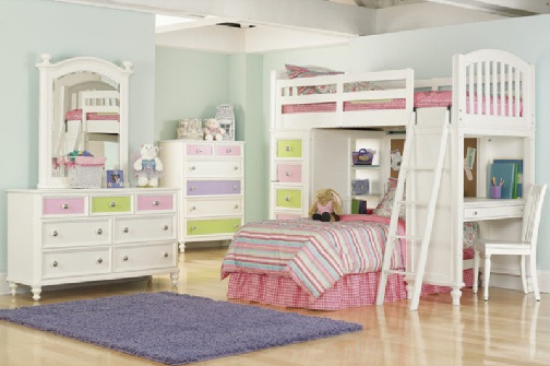 colourful bedroom sets for childern