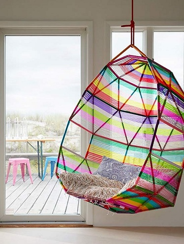 Colourful Hanging Chair