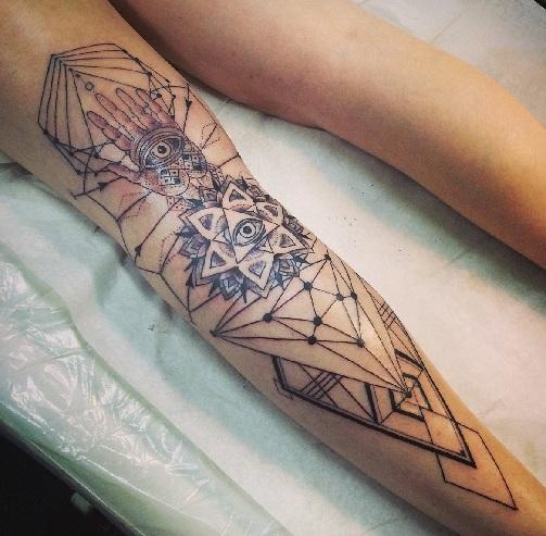 Combination Dot Tattoo