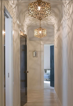 Top 9 Beautiful Hallway Ceiling Lights - Confetti cube lighting