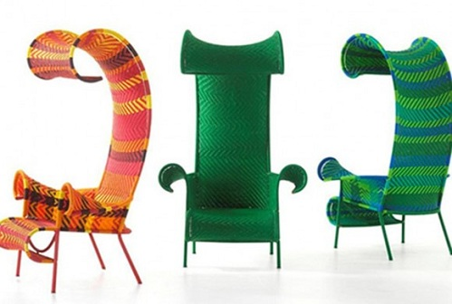 Contemporary Cane Chairs